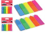Закладки пластиковые AXENT (прямоугольные) с клейким слоем,  2440-01-А