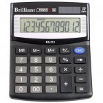 Калькулятор полупрофессиональный BRILLIANT BS-212
