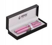 Набор REGAL из перьевой ручки и ручки-роллера в подарочном футляре, (R82210.L.RF)