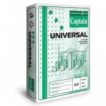Бумага А4  Captain Universal  (IP) 80 г/м2,  500 листов,  класс