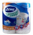 Полотенца бумажные  ZEWA Wisch & Weg , белые с рисунком