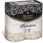 Бумага туалетная MARGO Premium,  белая
