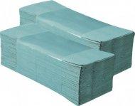 Полотенца бумажные листовые  BUROCLEAN,  зелёные