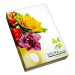 Набор цветной бумаги А4 SPEСTRA COLOR Deep (интенсив) 80г/м2, 100 листов.