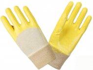 Перчатки  DOLONI  х/б с нитрилом (пара), 4523.