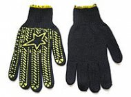 Перчатки  DOLONI  вязка в 53 нитей (ладошка с ПВХ рисунком, пара), 562.
