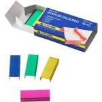 Скобы для степлеров цветные №10,  BM.4421