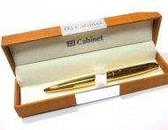 Ручка шариковая Cabinet MIRACLE золотой корпус,  (O15385-15)