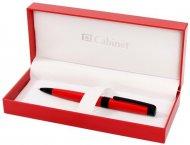 Ручка шариковая Cabinet CORSICA красный корпус,  (O15376)
