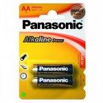 Эл.питания (батарейка) Panasonic ALKALINE POWER, LR6 (AA),  (LR6REB/2BP)