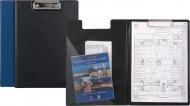 Папка-планшет, А4, AXENT, черная и синяя, (2513-А)