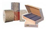 Металлические пружины в бобине и пружины форматные для биндеров AGENT