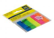 Закладки Buromax пластиковые 5х25л NEON ассорти (BM.2302-98)