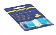 Закладки Buromax пластиковые 45x25мм 50 листов POP-UP NEON синий (BM.2309-02)