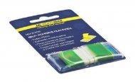 Закладки Buromax пластиковые 45x25мм 50 листов POP-UP NEON зеленый (BM.2309-04)