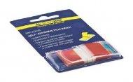 Закладки Buromax пластиковые 45x25мм 50 листов POP-UP NEON красный (BM.2309-05)