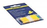 Закладки Buromax пластиковые 45x25мм 50 листов POP-UP NEON желтый (BM.2309-08)