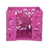 Бокс для бумаг Buromax Barocco металлический розовый (BM.6216-10)