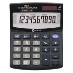 (АКЦИЯ !)  Калькулятор настольный Optima, 10 разрядов, размер (O75526)