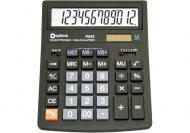 (АКЦИЯ !)  Калькулятор настольный бухгалтерский Optima, 12 разрядный, (O75525)