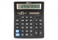 (АКЦИЯ !)  Калькулятор настольный бухгалтерский Optima, 12 разрядный, (O75575)