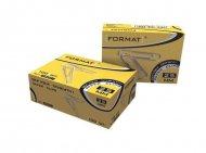 Скрепки 25 мм 100шт Format (F48001)