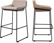 Мягкий барный стул COMFY (Комфи) Concepto, цвет - ассорти