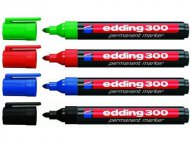 Маркер Edding Permanent e-300,  1,5-3 мм круглый, ассорти (е-300/ хх)