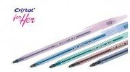 Ручка шариковая BIC Cristal FOR HER (891393)