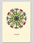 Тетрадь для записей, А6, 176л, клетка, ламин. картон (213 2)