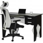 Рабочая станция (стол+кресло) Barsky Homework White HG-03/BM-04