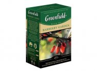 Чай черный Greenfield BARBERRY GARDEN, black tea, list, 100 гр