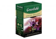 Чай черный Greenfield SPRING MELODY, black tea, list, 100 гр