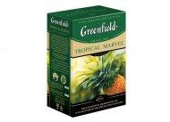 Чай зеленый Greenfield  TROPICAL MARVEL, green tea, list, 100 гр
