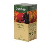 Чай травяной Greenfield FESTIVE GRAPE , herbal tea, 100 пак.