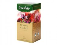 Чай черный Greenfield SPRING MELODY, black tea, 100 пак.