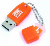 Flash Drive GOODRAM UFR2 8 GB ORANGE  (UFR2-0080O0R11 )