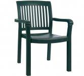 Моноблочное кресло Mistral PAPATYA с полыми (трубчатыми) ножками