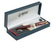 Шариковая ручка в подарочном футляре L, бордовый  (R35501.L.B)