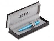 Шариковая ручка в подарочном футляре, голубой  (R87312.P.B)