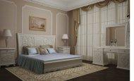 Спальня Bellini, кровать, 2 тумбочки, туалетный столик с зеркалом