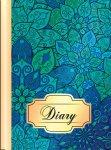 Ежедневник недатированный FLOWERS, A5, синий  (BM.2044-02)