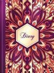 Ежедневник недатированный FLOWERS, A5, фиолетовый  (BM.2044-07)