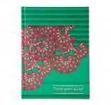 Ежедневник недатированный ETHNO, A5, зеленый  (BM.2166-04)