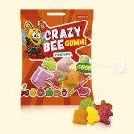 Желейні цукерки Crazy Bee Gummi Puzzles 100г  (0146825 )