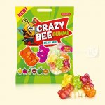 Желейні цукерки Crazy Bee Gummi Bear Mix 100г  (0146811 )