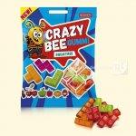 Желейні цукерки Crazy Bee Gummi Squatris 100г  (0146950 )