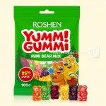 Желейні цукерки Yummi Gummi Mini Bear Mix 100г  (0147788)