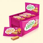 Вафлі Roshen KROCK з начинкою какао 40г   (0146123 )