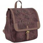 Рюкзак 2503 Dolce-1. Надёжная фурнитура, замки, 1 отделение, 6 внутренних, 1 задний карман, коричневая подкладка.